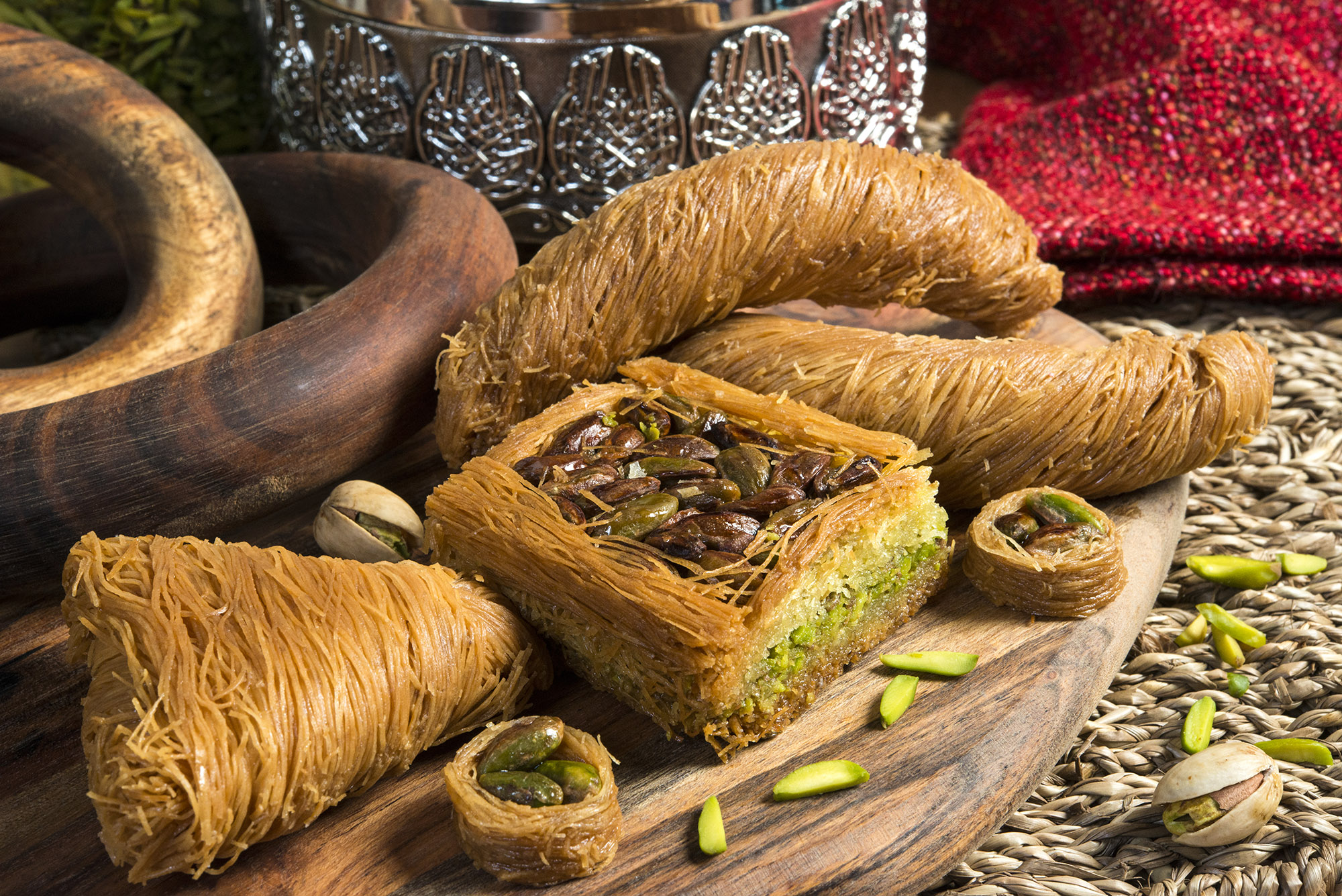 Oriental Sweets, Mabromeh by Mosaic