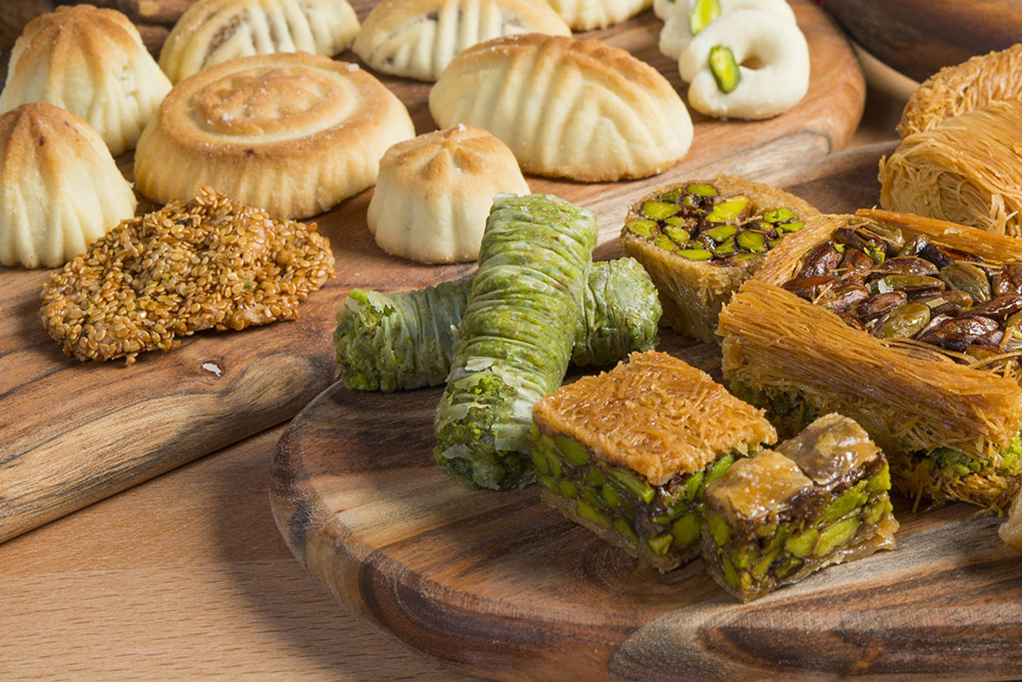 Mixed Oriental Sweets by MOSAIC