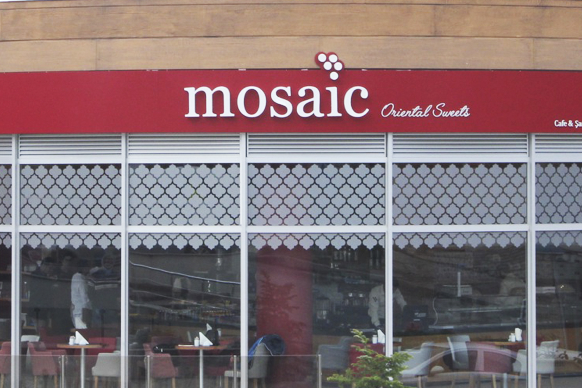 Mosaic Outlet, cafe